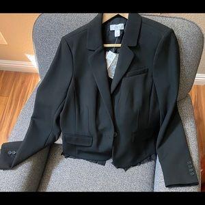 NWT-Ann Taylor Loft blazer- black size 10